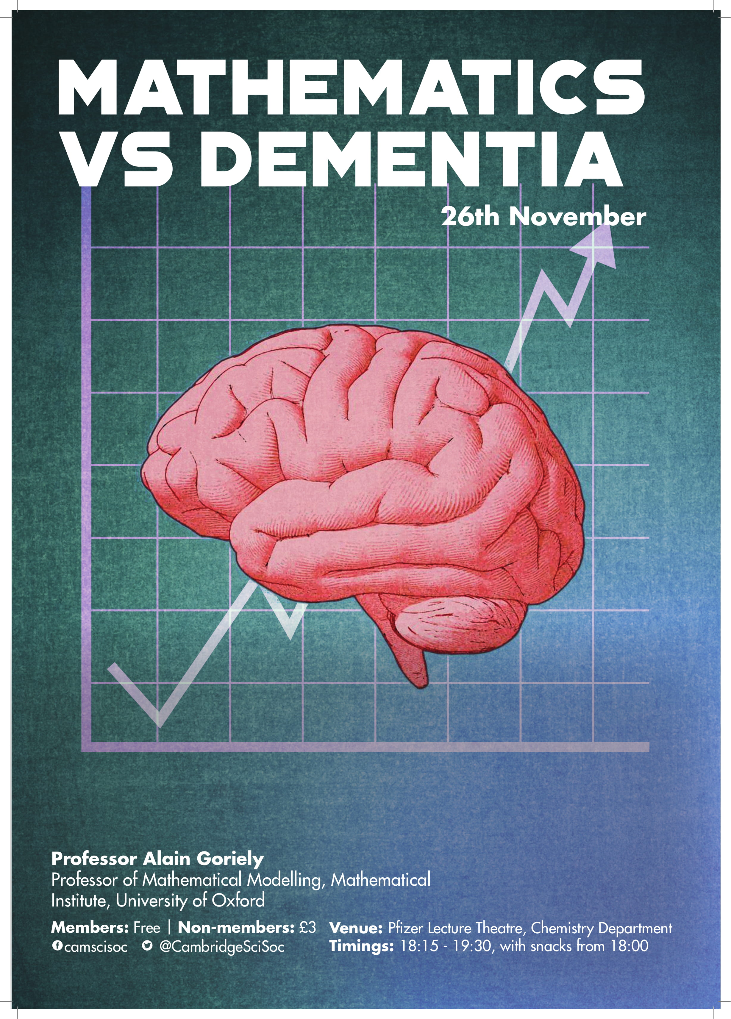 Mathematics vs Dementia – Prof Alan Goriely