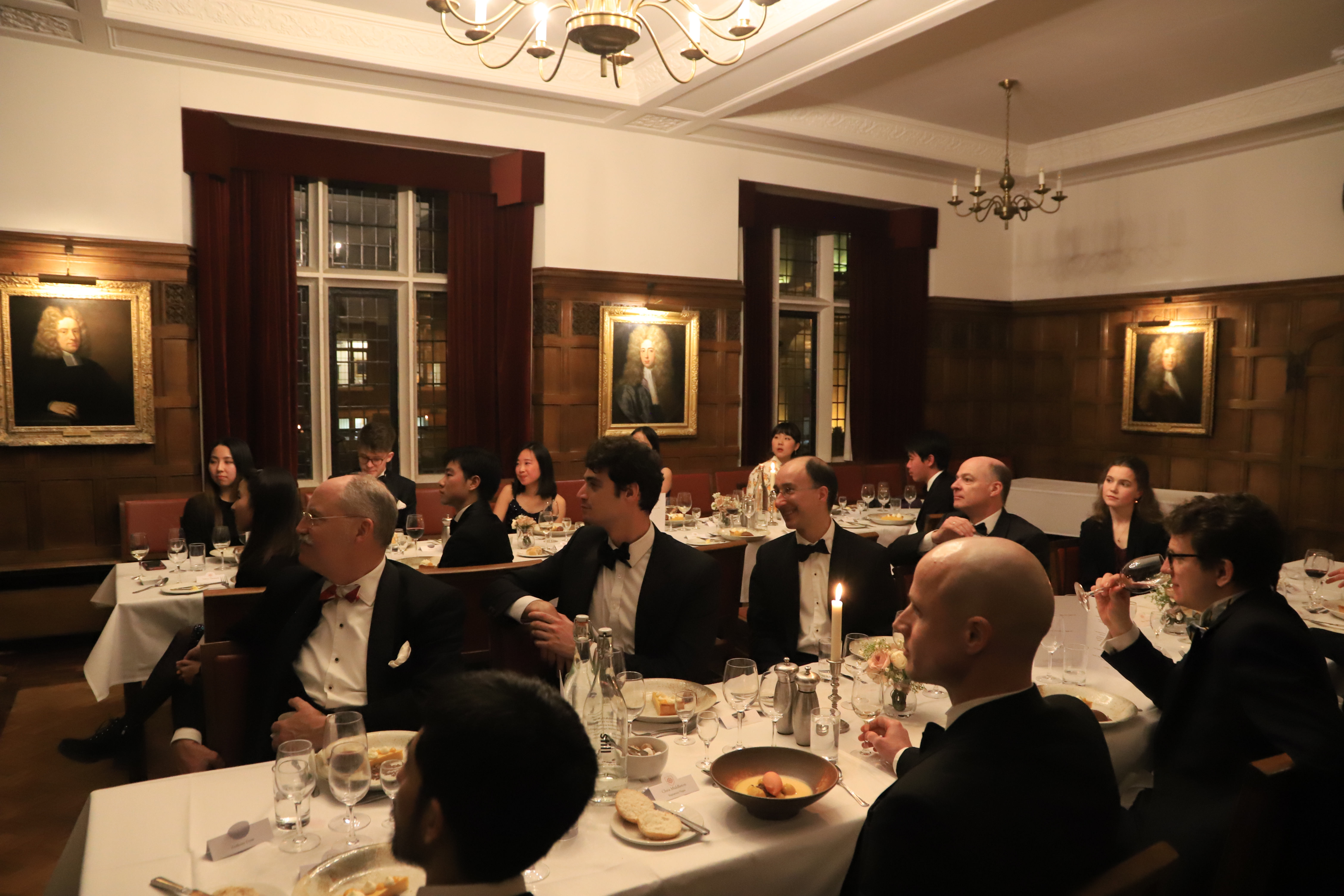 The Annual Founder's Dinner, at St Catharine's College SCR