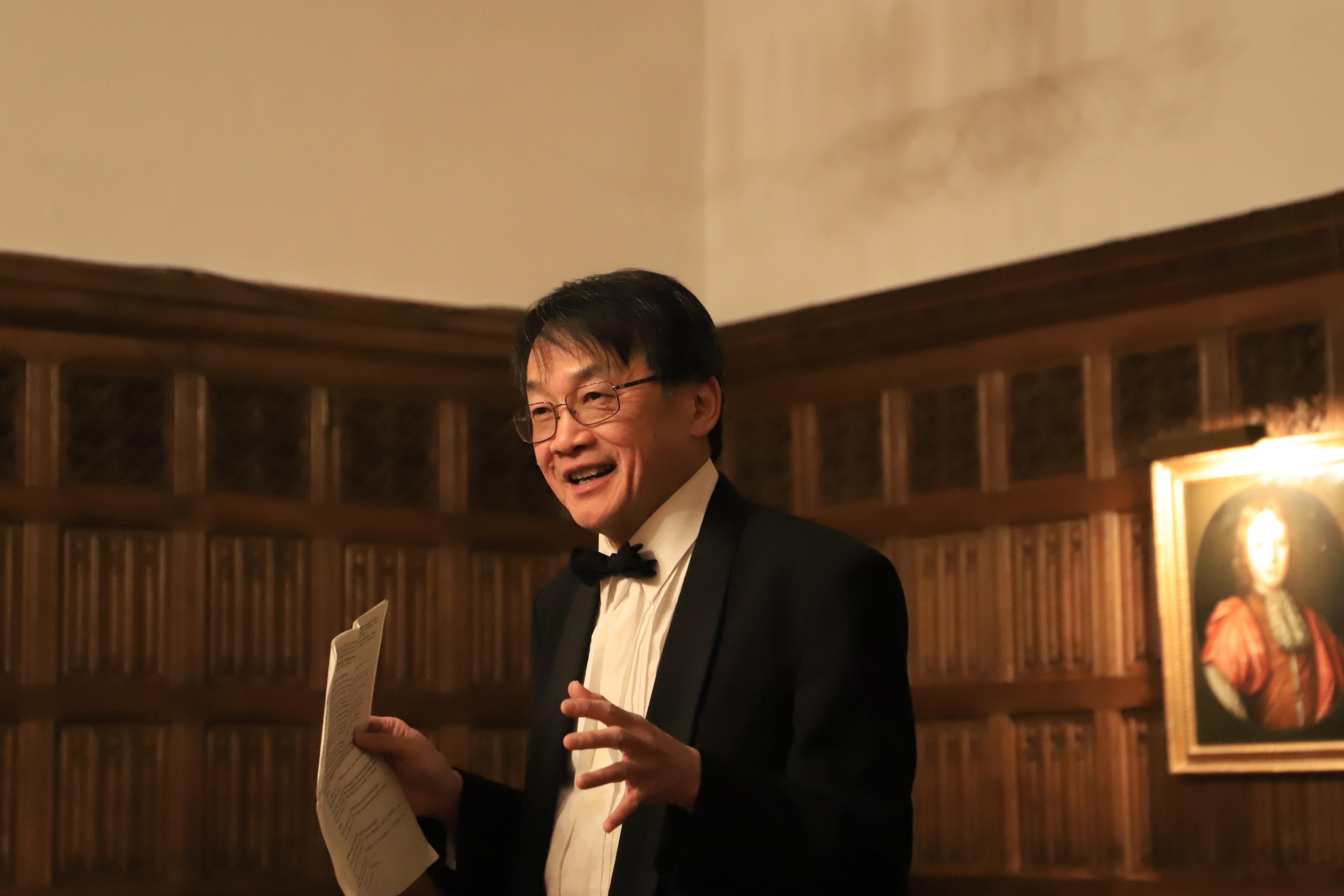 Guest of Honour Professor Christopher Hwang